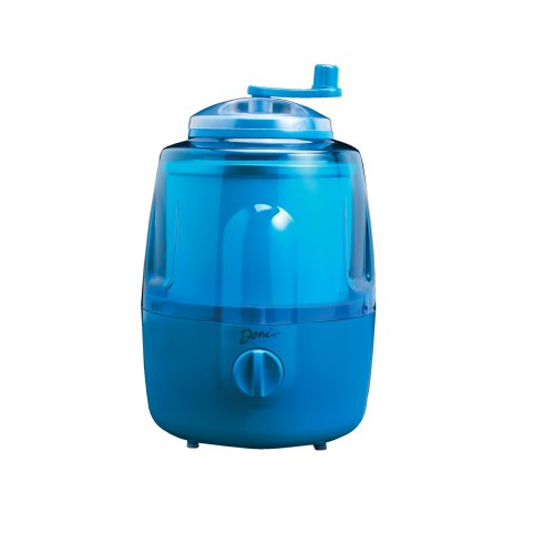 Deni 5201 Fully Automatic 1-1/2-Quart Ice-Cream Maker with Candy Crusher, Blueberry (Best Fully Automatic Ice Cream Maker)