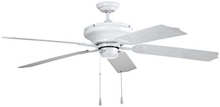 Orbegozo CP 95132 Ventilador de Techo para Exterior, 5 Palas, PVC, Blanco: Amazon.es: Hogar