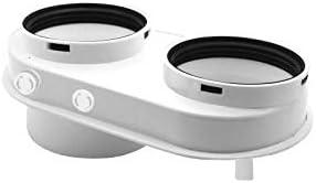 Daikin - Kit de humos divididos 80/80 para caldera Daikin D2C, color blanco