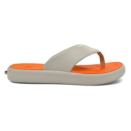 Softscience Homme Skiff Eva Flip Flop Gris Clair / Orange