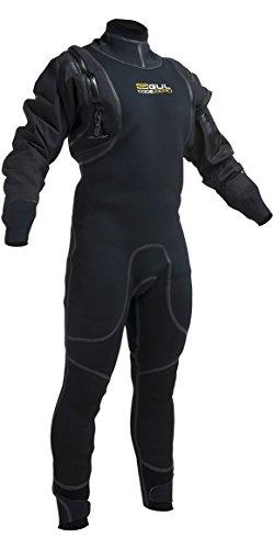 Gul CODE ZERO HYBRID 4mm Hybrid Dry Wetsuit 2018 - Black M