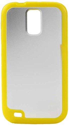 REIKO PP-SAMT989YL Hybrid Gummy PC/TPU Slim Protective Ca...