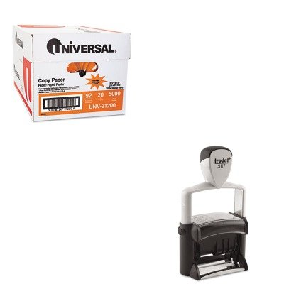KITUNV21200USST5117 - Value Kit - Trodat Professional 12-Message Stamp (USST5117) and Universal Copy Paper (UNV21200) by Trodat