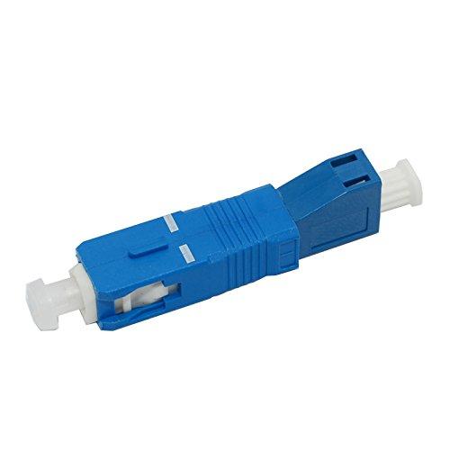 Jeirdus OS1 OS2 SC-LC SC Male to LC Female Simplex Fiber Optic Coupler Connector Single Mode SC/LC Fiber Coupler Adapter
