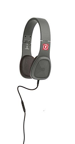 Outdoor Tech OT1450-GR Wired Audio Bajas Headphones, Gray