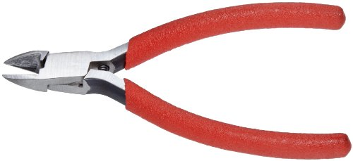 Xcelite 54CGV Forged Alloy Steel Diagonal Plier with Standard Jaw, 4