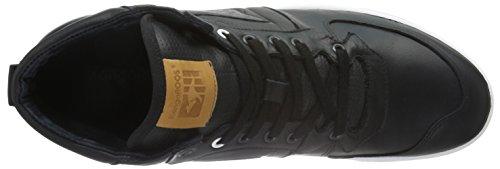KangaROOS Full-court-mid-nappa - Zapatillas Hombre Negro