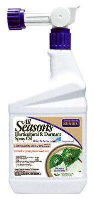 All Seasons Horticultural Oil Spray Ready To Spray,32 FL OZ (Oil Spray Dormant)