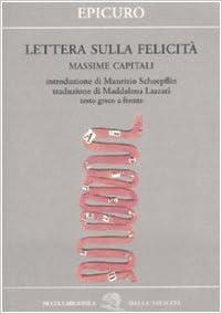 epicuro lettera sulla felicità