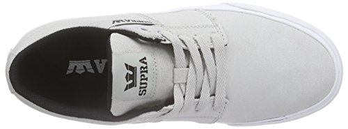 Supra Top Grey Low Light Ii Grey Stacks Lgy Unisex Vulc Adults' Sneakers White rZrqY