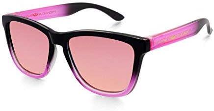 Gafas de sol MOSCA NEGRA modelo ALPHA SUNSET Pink - Polarized - TR90