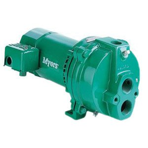 Myers HJ75D Jet Pump, 1-1/4'' NPT Inlet x 1'' NPT Outlet, 3/4 hp by Myers