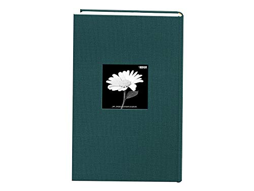 Home Decor Fabric Frame Cover Photo Album 300 Pockets Hold 4x6 Photos, Majestic Teal