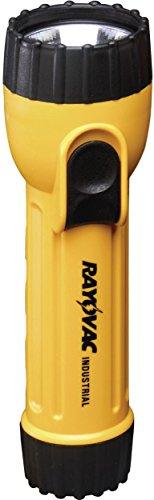 Rayovac Industrial Grade 10 Lumen 2D Yellow Flashlight (IN2C)