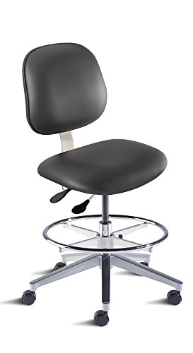 BioFit Engineered Products BEA-M-RC-C-ATF-AV126 Belize Series Desk Height Chair with Aluminum Base