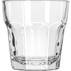 Libbey Glassware 15241 Gibraltar Cooler Glass, Duratuff, 7 oz. (Pack of 36) by Libbey