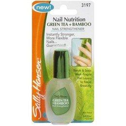 Sally Hansen Nail Nutrition Green Tea + Bamboo 0.45 Ounce (13ml) (2 Pack) - Green Tea Nails