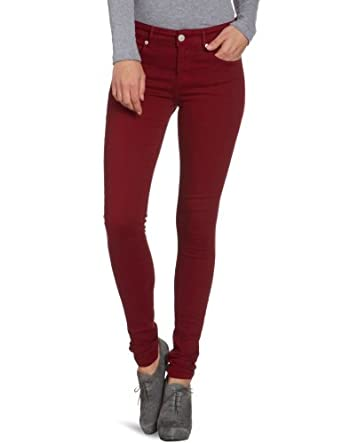 Cross Jeans Women&39s Skinny Fit Jeans - Red - Rot (Dark Red) - 30W