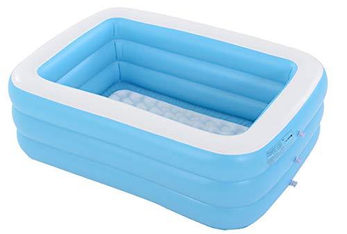 Inflatable Bath Tub,Portable Folding Adult SPA Bathtub,XL Free Standing Bath Tub with Electric Air Pump]()