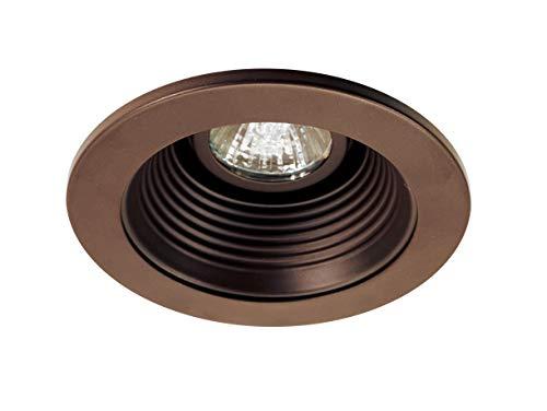 NICOR Lighting 4-Inch Recessed Baffle Trim, Oil Rubbed Bronze (14002OB-OB)