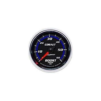 Autometer Cobalt 52mm 0-35 psi Mechanical Boost Gauge am6104