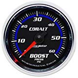 (Autometer Cobalt 52mm 0-60psi Mechanical Boost Gauge (am6105) )