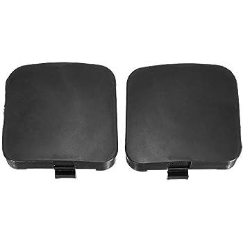Godyluck 2Pcs Front Left Right Bumper Tow Hook Eye Cover Cap 53285-0R907 53286-0R907 for Toyota RAV4 2009-2012