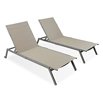 Delicieux Ostrich Princeton 2 Pack All Weather Outdoor Patio Chaise Lounge