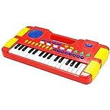 Teclado musical infantil piano musical com 31 teclas 8 sons e função gravador infantil a pilhas pianinho bebe e crianças