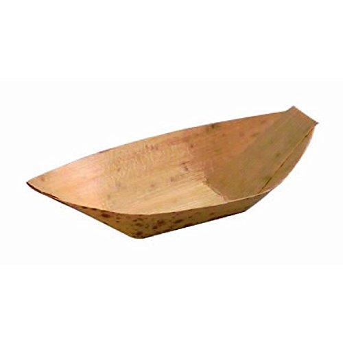 PacknWood 210BJQ8.5 Oz. Bamboo Leaf Boat44; Pack Of 1000