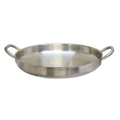 19'' Stainless Steel Camal Fried Griddle Caso Pot Pan Wok Gas Stove burner Cook Frying Pan from PROLINEMAX