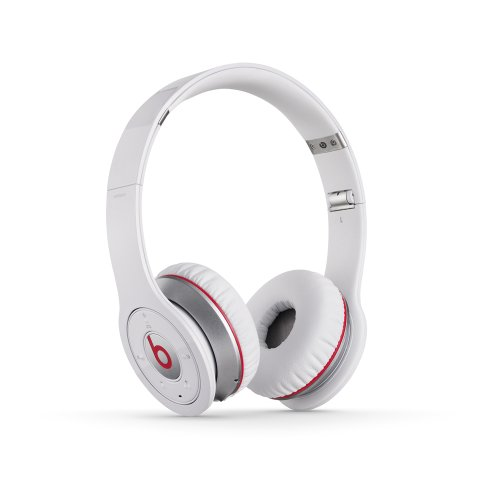 Beats Wireless On-Ear Headphone (White -Discontinued by Manufacturer)