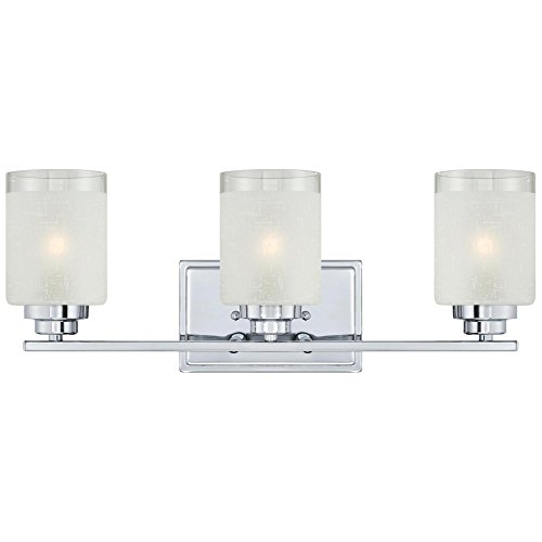 Westinghouse Lighting 63438A Hansen 3 Light Indoor Wall Fixture, ()