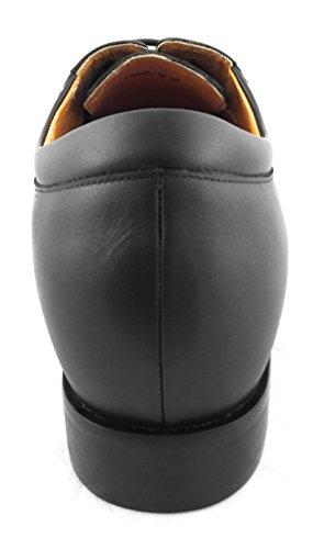 ZERIMAR Zapatos con alzas interiores Aumento + 7 Cm ¡OFERTA ESPECIAL 75 ANIVERSARIO! ¡OFERTA ESPECIAL 75 ANIVERSARIO! Zapato fabricado en piel vacuna de alta calidad 100% piel Color marron Marron