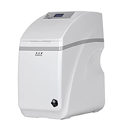 RAOLUNS Electric Water Softener, Fully Automatic Intelligent ABS Plastic Color White LLS-UF-07 (R1)