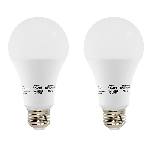 Euri Lighting EA21-2100-2 LED A21 Bulb, Econ Line, Soft White 3000K, Non-Dim, 14W (100W Equivalent), 1521 lm, 150 Degree Beam Angle, Medium Base (E26), UL-Listed (Pack of 2)