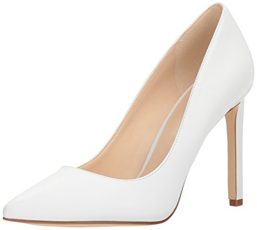 West Leather Leather Pump White Nine Tatiana P0qEdww