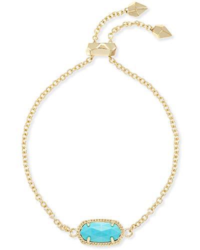 Kendra Scott Elaina Bracelet Gold Turquoise Magnesite
