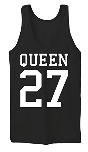Queen 27 Tanktop Girls Noir