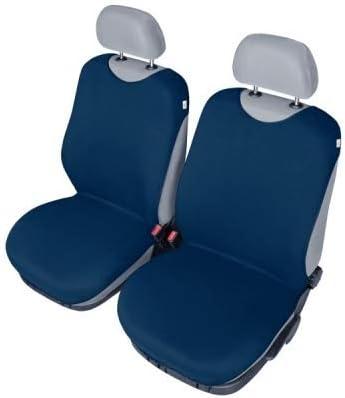 Universelle Auto Schonbez/üge Cotton mehrere Farben kompatibel mit Renault Twingo DUNKEL BLAU