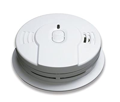 Kidde i9010 10 Year Sealed Lithium Battery Operated Smoke Alarm with Memory and Smart Hush
