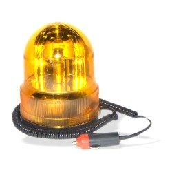 Amber 12 Volt Flashing Emergency Light