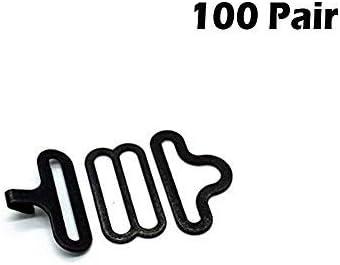 Metal Adjustable Bow Tie Hardware Cravat Clip Hook Fastener for Necktie Strap