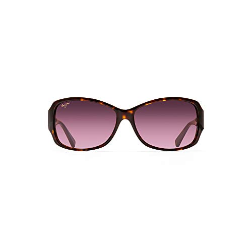 Maui Jim Nalani HS295-03T | Sunglasses, Tortoise with White, with with Patented PolarizedPlus2 Lens Technology