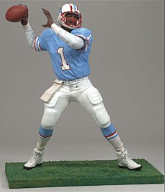 "Houston Oilers Warren Moon 6"" McFarlane Figurine"