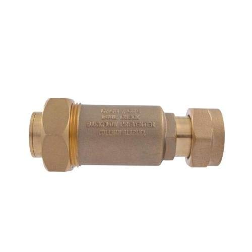 - Cash Acme BF5M0134, BF5 Dual Check Valve, Meter Swivel Nut Inlet (Pack of 5 pcs)