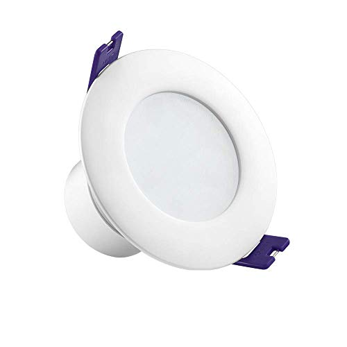 Slimline Panel Flat (XAJGW 10W LED Round Recessed Ceiling Flat Panel Down Light Ultra Slim Lamp Cool White 6000K [Energy Class A+] (Color : 10W, Size : Warm White Light))