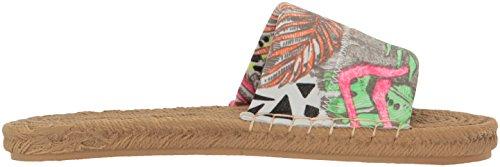 The SAK Women's EMI Espadrille Sandal Neon Wild Life 47fsZPx5Ub