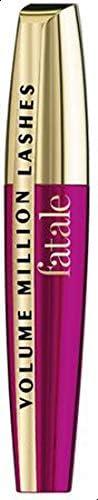 ماسكارا تمنحك حجمًا وكثافة أكبر لرموشك من لوريال باريس، لون اسود، 9.4 مل