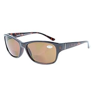 Eyekepper SunReaders Polarized Bifocal Sunglasses Tortoise +3.0